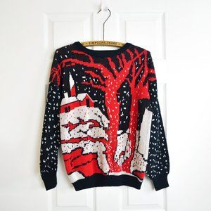Vintage 80s/90s Christmas Sweater Pullover